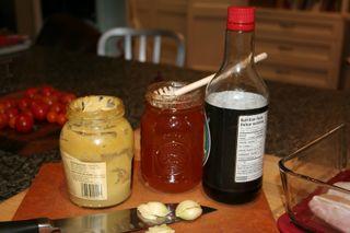Honeymustard ingredients