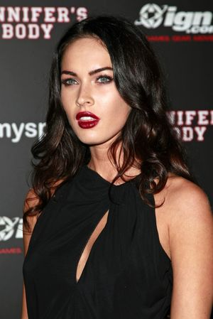 Megan Fox Red Lips. Megan Fox. If red is usually