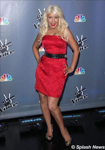 the voice christina aguilera 6 7 2011. Christina Aguilera