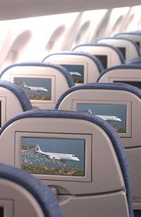 Système de divertissement d'Air Canada