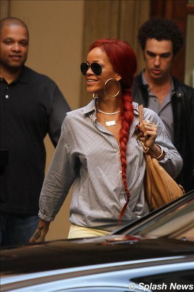 Rihanna and Roberta Armani