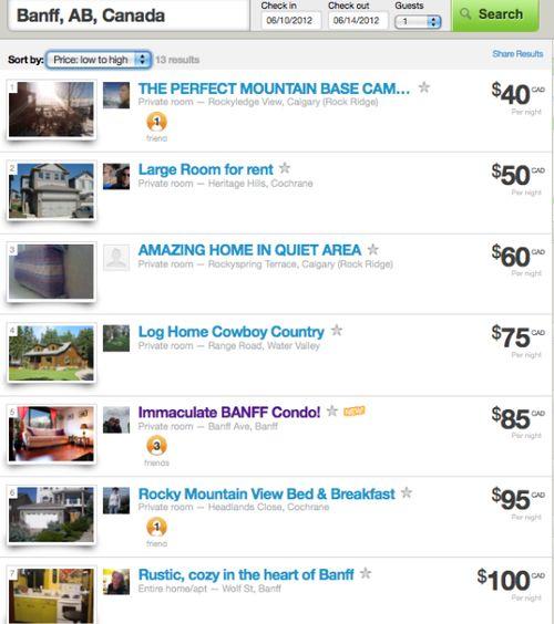 Banff airbnb