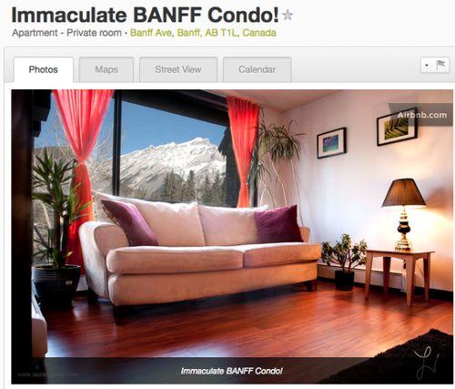 Banff condo