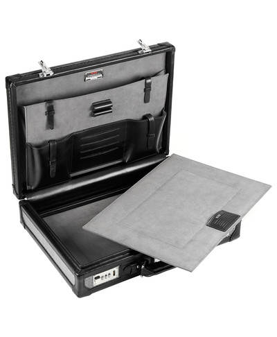 Bulletproof briefcase interior