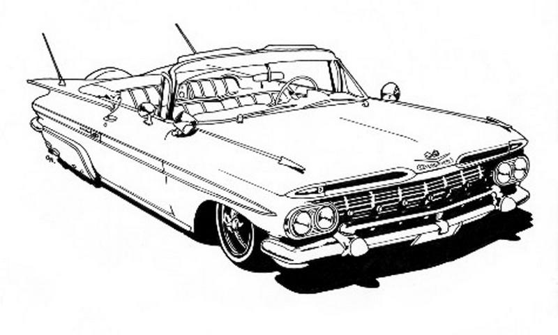 Lowrider-coloring-book