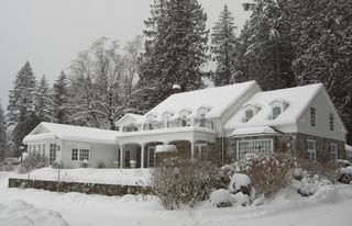 Snow cottage