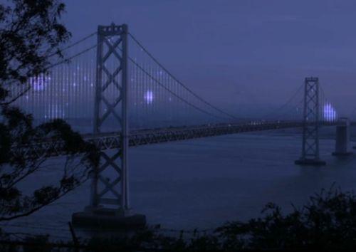 Bay Bridge lights artist