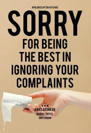 Sorry ignoring