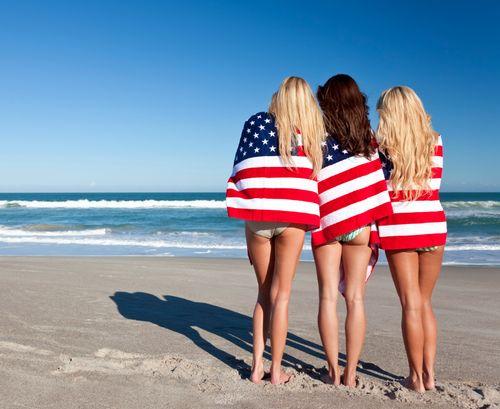 American visitors